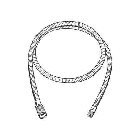 grohe kitchen faucet replacement hose grohe ladylux and europlus pull out kitchen faucet hose