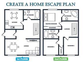 How To Draw A Floor Plan For A House Escape Plan Emc Security