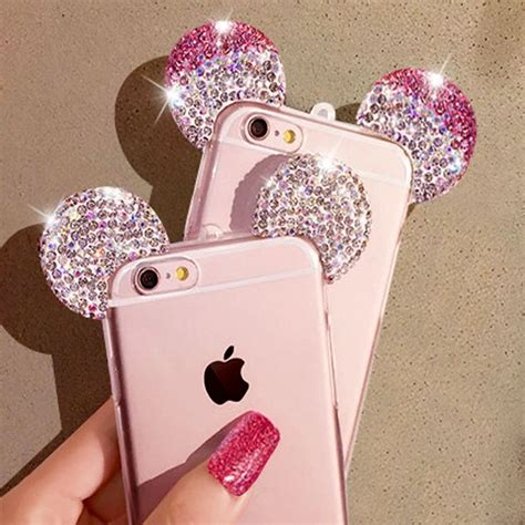 Ap Mickey 3d Glittery High Quality Softcase Iphone 4 5 6 6 Grand 17 best images about future phone iphone 7 plus rosegold
