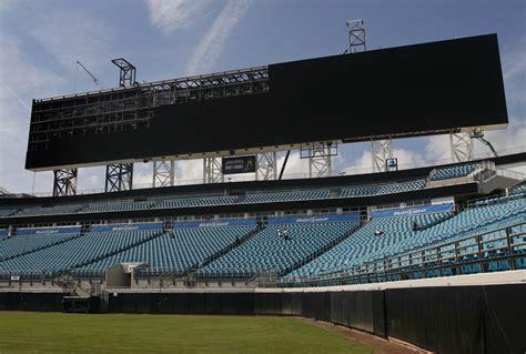 jacksonville jaguars stadium renovation stadium renovations show future is pointing up for jaguars
