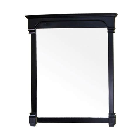 31 X 42 Frame by Deco Mirror 43 In X 31 In Framed Wall Mirror In Espresso