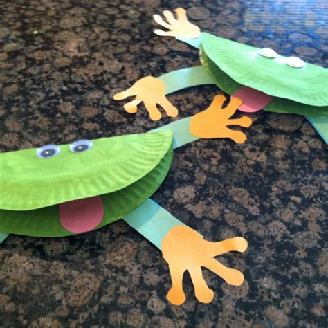 How To Make A Paper Frog Tongue - and easy sea craft check out our habitat