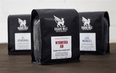 coffee shop packaging design square mile coffee roasters on packaging of the world