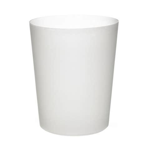 white plastic bathroom bin wilko waste bin opaque plastic at wilko com