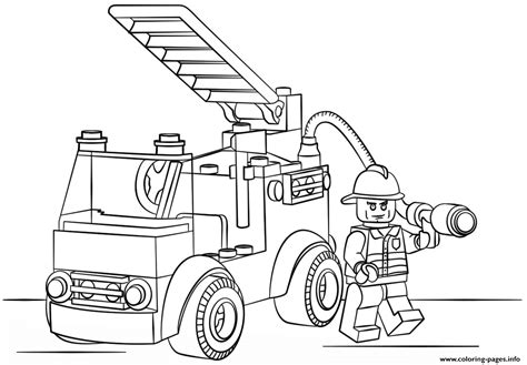 coloring pages lego police lego fire truck police coloring pages printable