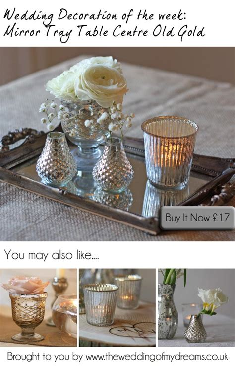 mirror tray wedding table decorations the wedding of