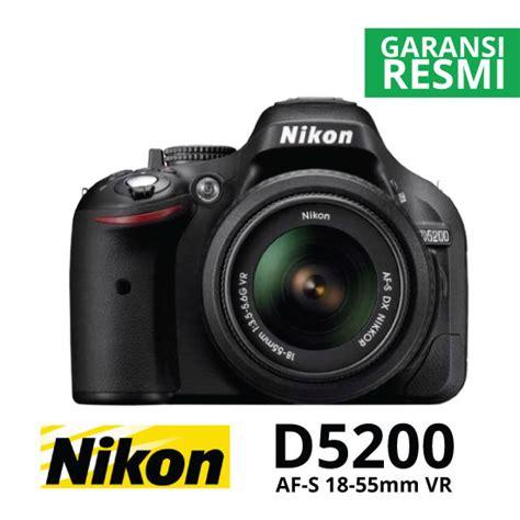 Jual Everbrait Box by Jual Nikon D5200 Kit Af S 18 55mm Vr Black Harga Dan