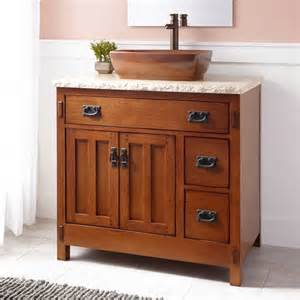 36 quot halstead vessel sink vanity bathroom