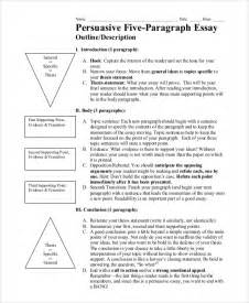 Persuasive Essay Outline Sample Essay Outline Example 8 Samples In Pdf Word