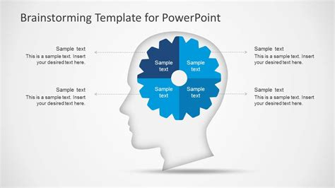 Brainstorming Template Powerpoint Brainstorming Powerpoint Template Slidemodel