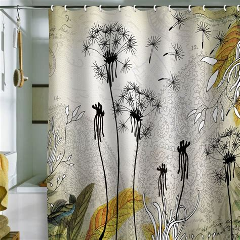 Design For Designer Shower Curtain Ideas Bathroom Beautiful Shower Curtains Modern Designs With White Silk Cloth Also Gorgeous Coconut