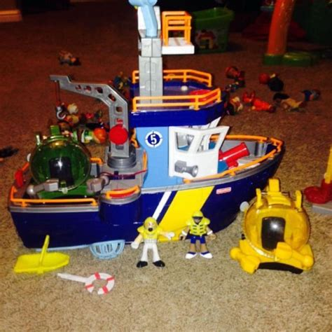 imaginext boat best fisher price imaginext coast guard ocean boat for