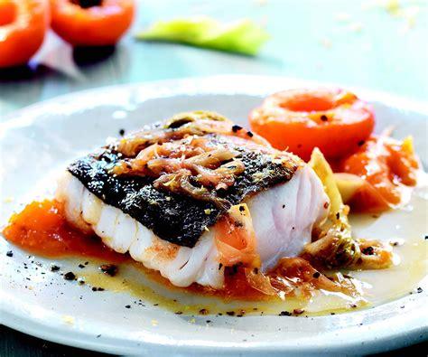 merluzzo cucina ricetta merluzzo con composta di albicocche la cucina