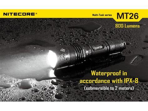 Hv9257 Nitecore Mt26 Senter Led Cree Xml U2 800 Lume Kode Bis9311 2 nitecore mt26 18650 flashlight nitecore mt26 now in india at lightorati