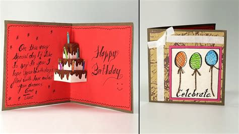 Handmade Card Birthday - handmade birthday cards with photos inspirational handmade