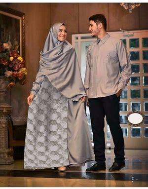 Baju Abu Abu Lengan Panjang baju gamis syari kemeja lengan panjang model terbaru