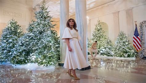 who pays for white house christmas melania shows beautiful white house decorations and a boy pays