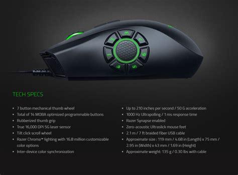 Razer Naga Hex V2 16000 Dpi The Op Moba Gaming Mouse razer naga hex v2 chroma gaming mouse black 16000dpi