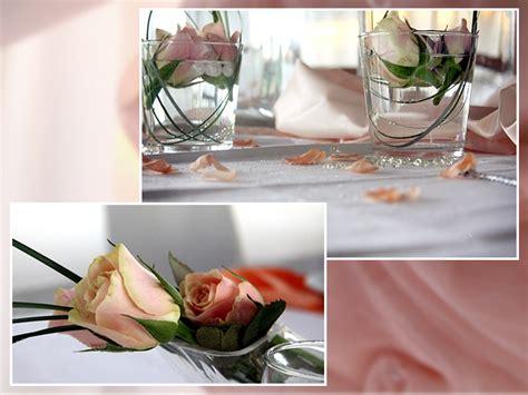 tischdekoration hochzeit rosa blumen tischdeko tips