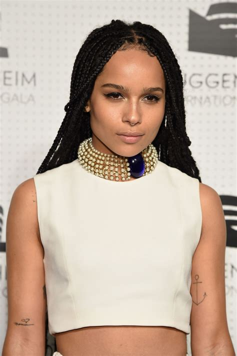 10 Hip And Zoe Kravitz Looks by Zo 235 Kravitz Discusses Being Black In The
