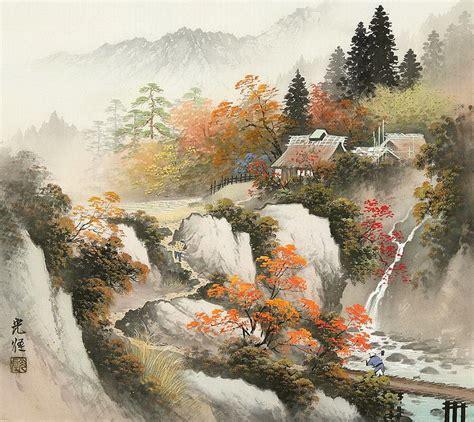 asiatische bilder im 225 genes arte pinturas calmados paisajes cesinos