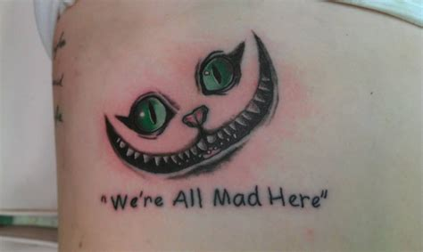 we re all mad here tattoos we re all mad here by gwentattoos on deviantart