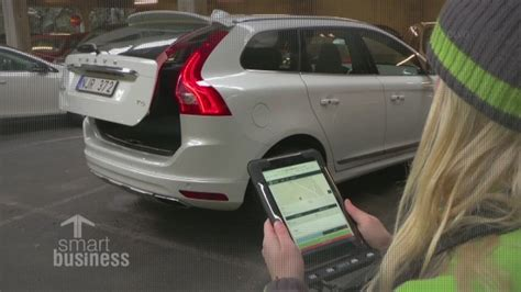 volvo business services new e delivery service sends groceries to car cnn