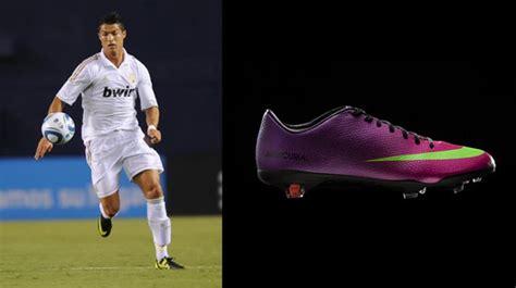 Sepatu Bola Cristiano Ronaldo thareq 20 pesepakbola dan model sepatu yang