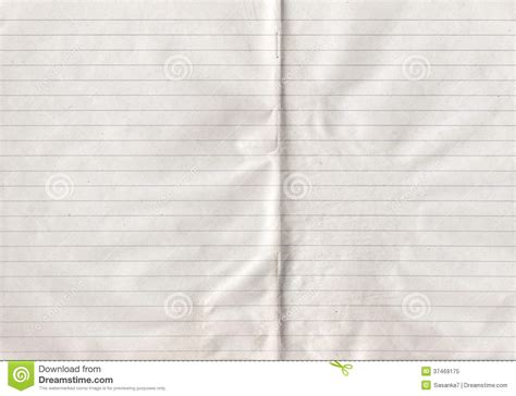 sheet of old grunge lined paper cartoon vector