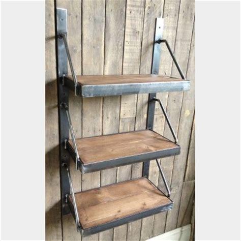 three tier wall mounted shelves metroretro