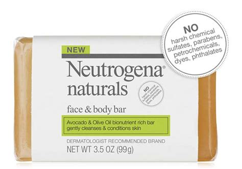 Jf Acne Protect Cleanser Bar neutrogena naturals and bar 3 5