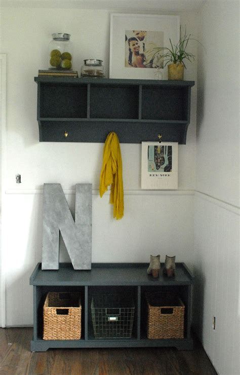 inspiring entryway organization ideas designer trapped and here s the space with the updated entry way piece