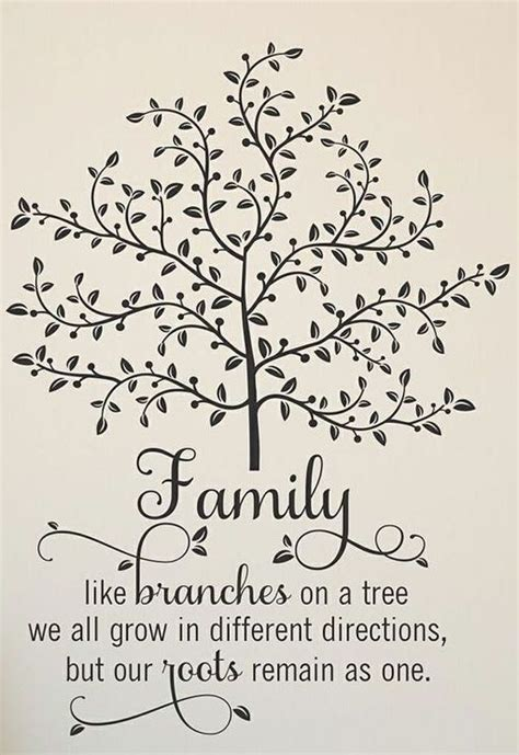 are you a branch on our family tree us history family like branches quote wall art family tree