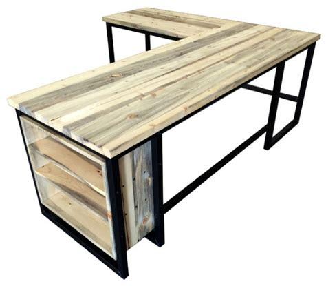 industrial desk l 7 most expensive l shape office desks cute furniture