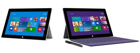 Tablet Microsoft Surface 2 microsoft reveals new surface 2 and surface pro 2 tablets