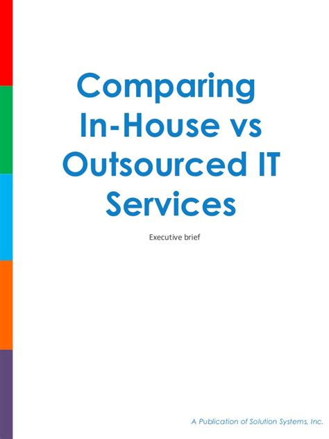 Comparing In House vs Outsourced IT Services