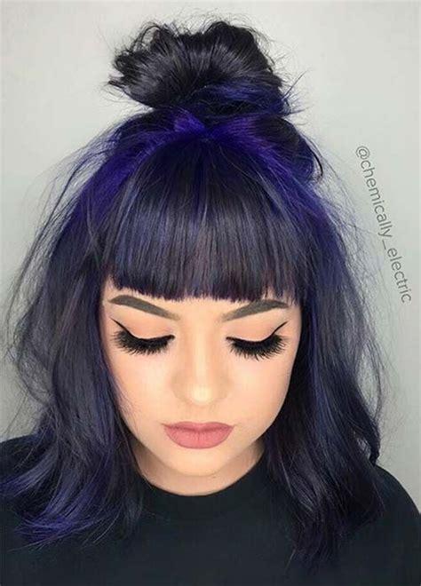 black hair fringe hairstyles 17 best ideas about edgy bangs on pinterest edgy medium
