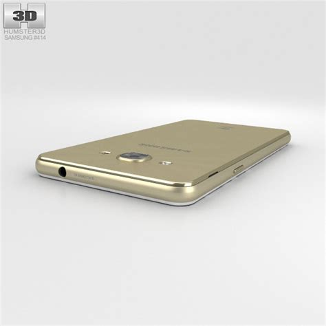 Samsung J3 Pro Gold Samsung Galaxy J3 Pro Gold 3d Model Hum3d