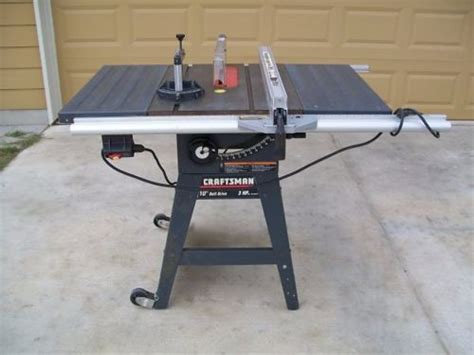 craftsman table saw casters craftsman 113 table saw with damaged trunnion by one19