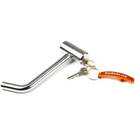 Locking Hitch Pin For Bike Rack by Kuat Locking Hitch Pin 1 2 Quot Rackboys Product Details
