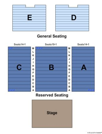golden nugget seating chart grand event center golden nugget tickets in las vegas