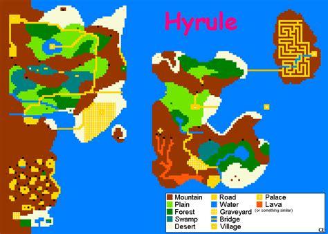 printable zelda map nes zelda maps
