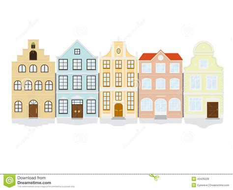 townhouse or house townhome clipart clipground