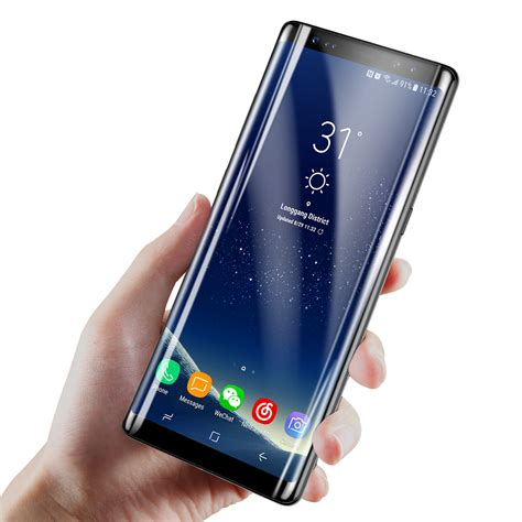 Tempered Glass Samsung Note 8 by Baseus 0 3mm 3d Curved Tempered Glass Screen Protector For