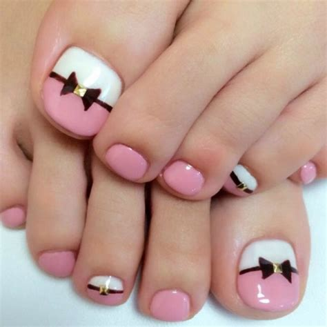 Toe Nail Designs by 35 Simple And Easy Toe Nail Design Ideas You Can Try