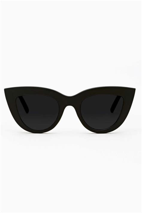 Cat Eye Shades insanely cat eye shades featuring a matte black frame