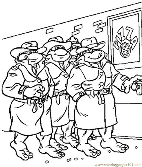 Ninja Turtle Coloring Pages Coloring Home Tmnt Names Coloring Pages