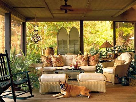 Screened Porch Remodeling Ideas Outdoortheme Com Screened In Porch Furniture Ideas