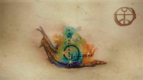snail tattoo snail images designs