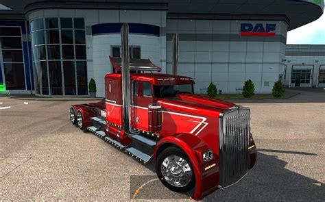 kenworth truck engines kenworth hotw9 phantom ppc engines for ets2 1 25